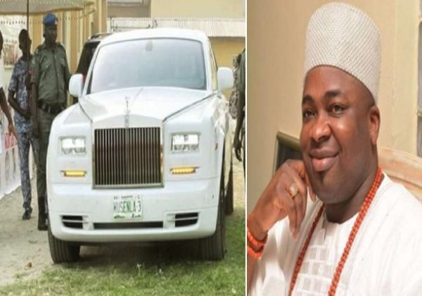 Oba Saheed Elegushi and Rolls Royce Phantom