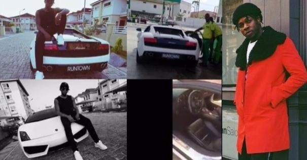 Lamborghini Gallardo 2017 and Runtown