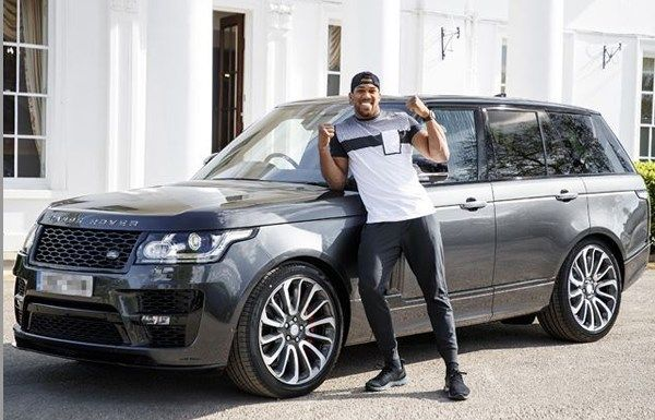 Anthony Joshua and his Range Rover Autobiography