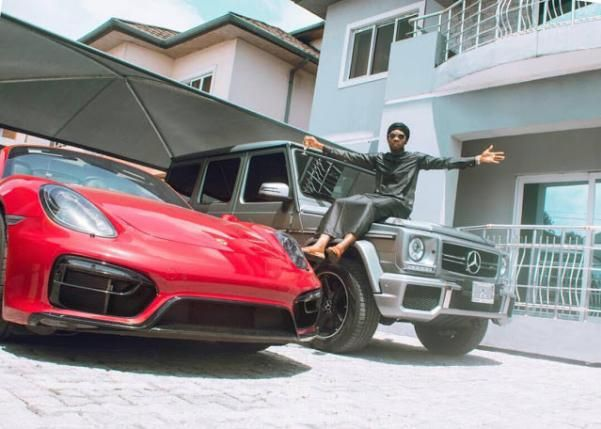 Patoranking and his Porsche