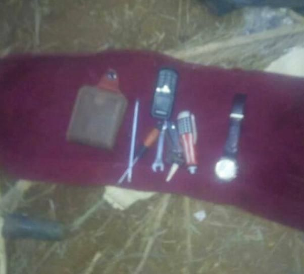 Tools of the car thief