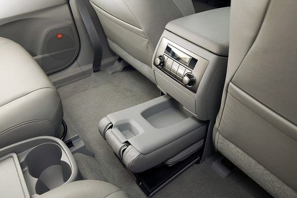 The Toyota Highlander 2008 storage space