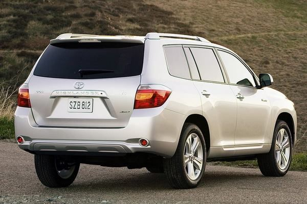Toyota Highlander 2008 model: Price, Pictures, Interior ...