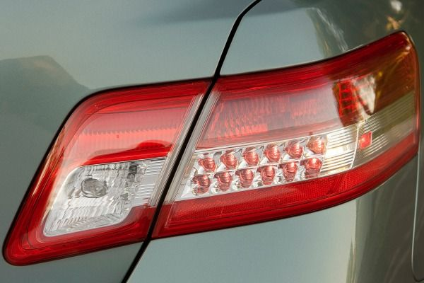 The Toyota Camry 2010 taillights