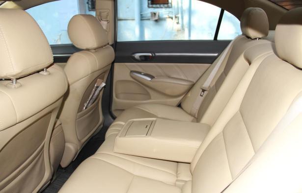 Honda Civic 2006 rear seats