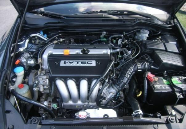 the 2.4 L 4-cylinder engine of Honda