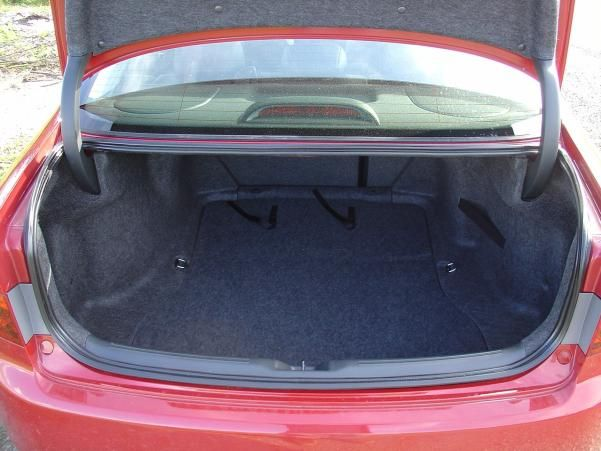 The Honda Accord 2005 boot space