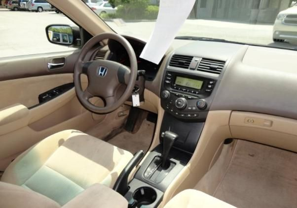 The base four-cylinder DX trim interior
