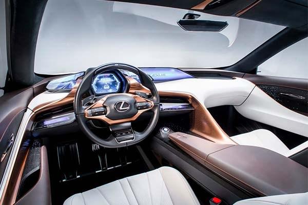 The Lexus LF-1 Limitless 2018 interior