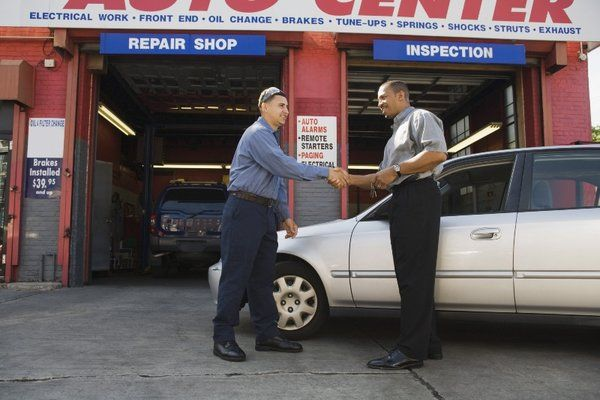 Vehicle repair contract