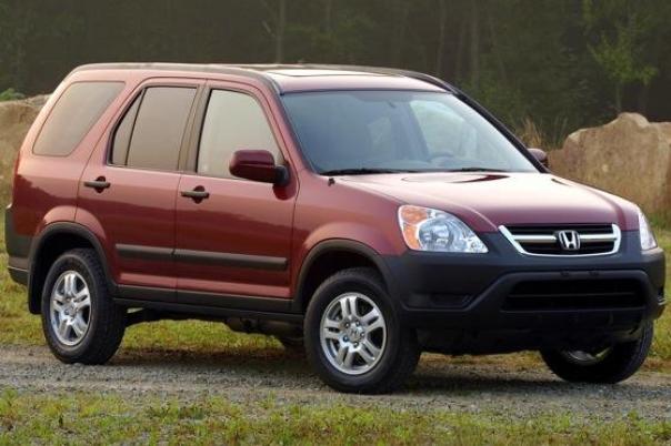 Honda CR-V 2005 angular front