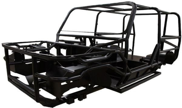 a ladder chassis of Mobius II