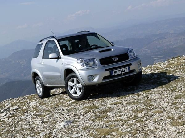 The Toyota RAV4 2005