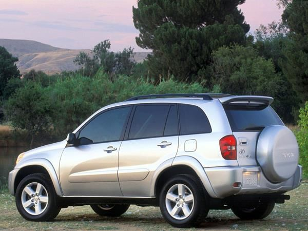 The Toyota RAV4 2005 angular rear