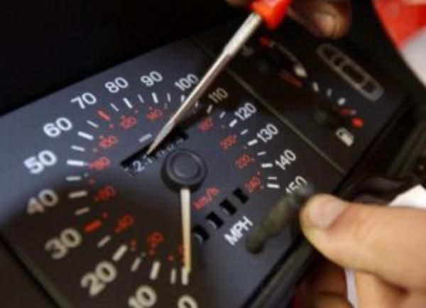 car's odometer