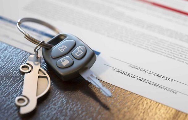 Car's key can paperwork