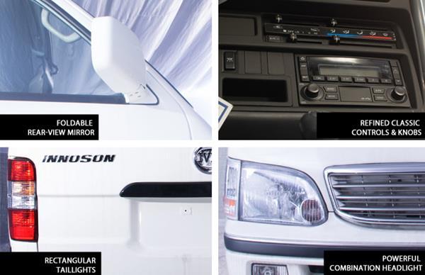 Innoson 5000 exterior features