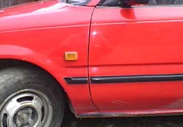a part of a car