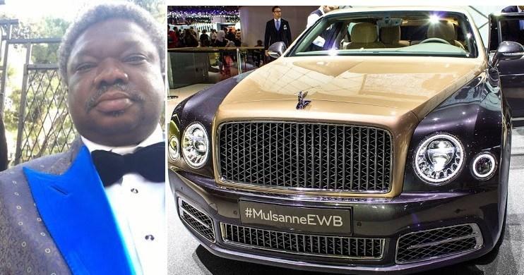 Olu Okeowo cars before & after the seizure by Nigeria Custom