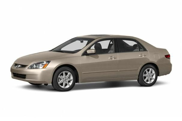 The Honda Accord 2004 angular front