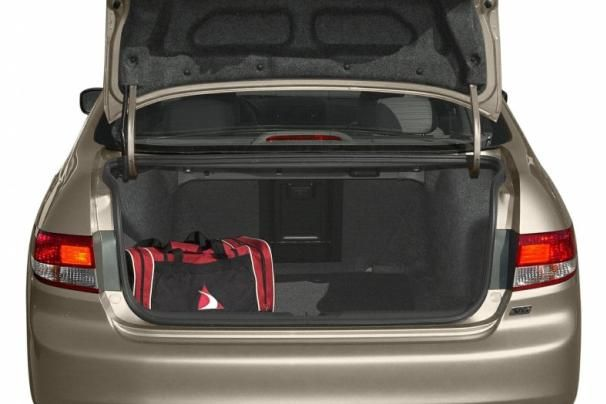 The Accord's trunk