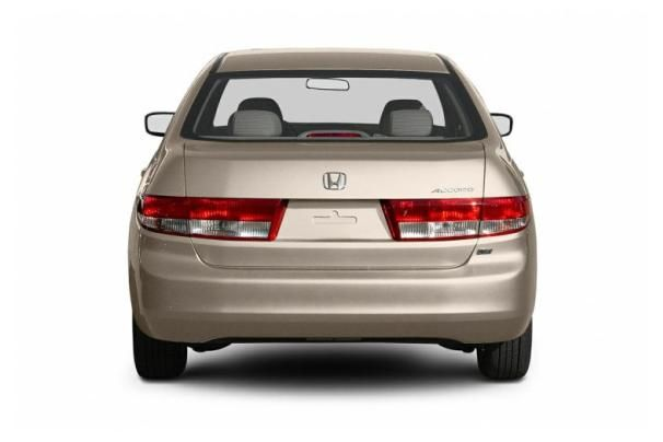 Honda Accord rear view