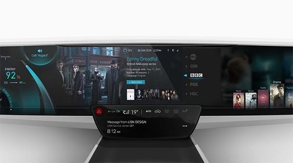 The MIRi UX, a future digital dashboard