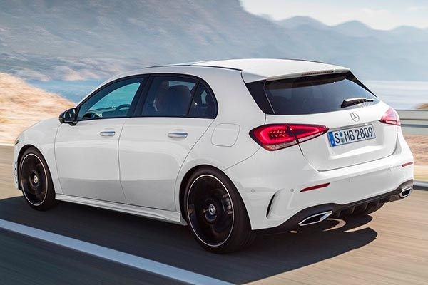 Mercedes Benz A-Class 2019 on the road