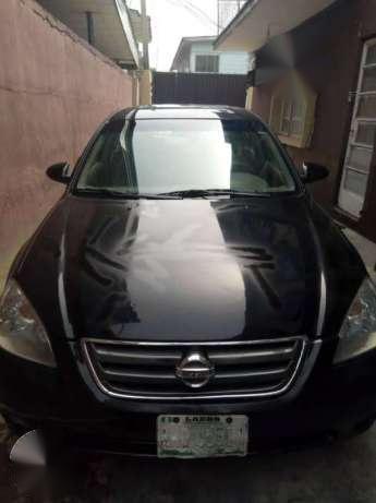 2001 Nissan Altima Black For Sale