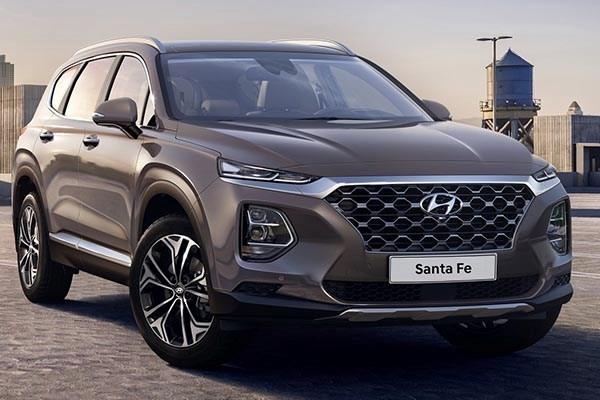 Hyundai Santa Fe 2019 angular front