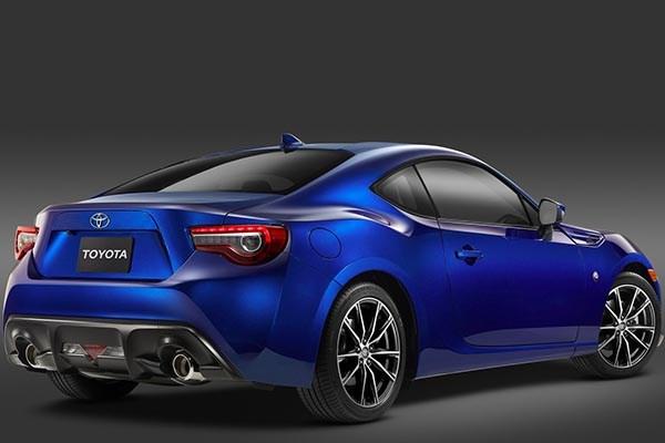 Toyota 86 2017 angular rear