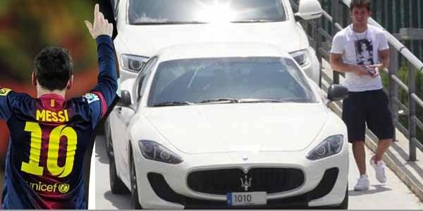 The Maserati MC Stradale ($145,000 - N54 million) of Lionel Messi