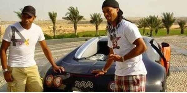 Bugatti Veyron ($1.5 million - N555 million) of Ronaldinho
