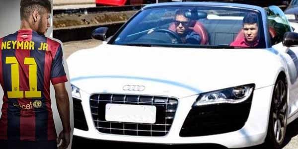 The Audi R8 GT ($246,000 - N91 million) of Neymar Jr.