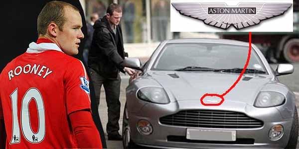 Aston Martin Vanquish S ($300,000 - N111 million) of Wayne Rooney
