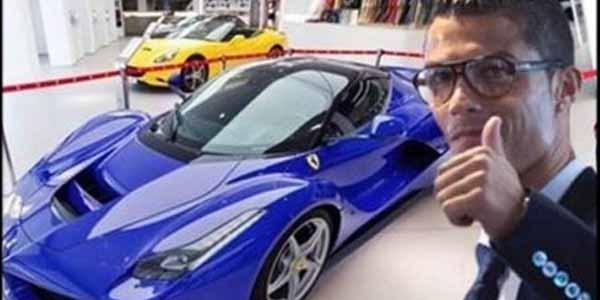 Ferrari LaFerrari ($1.3 million - N481 million) of Cristiano Ronaldo