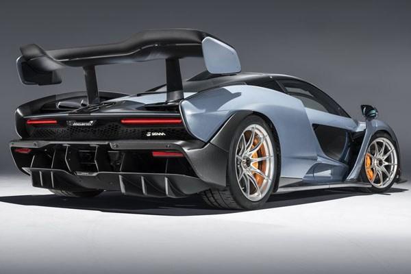 McLaren Senna 2019 angular rear