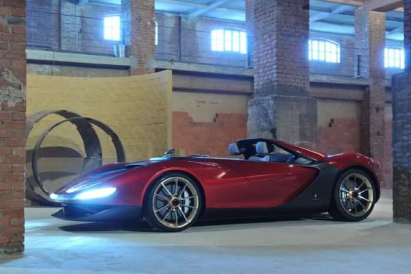 Ferrari Pininfarina Sergio angular front