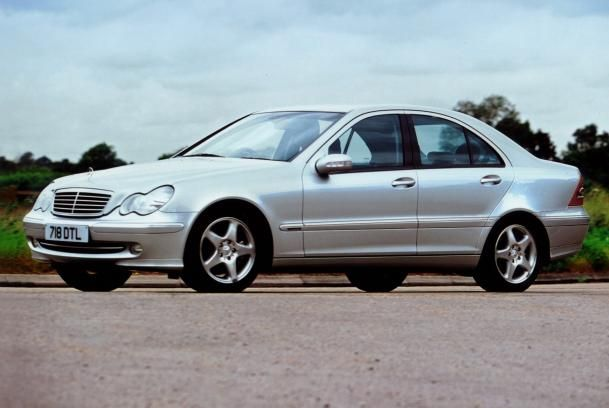 Mercedes-Benz C240 2005 sedan angular front