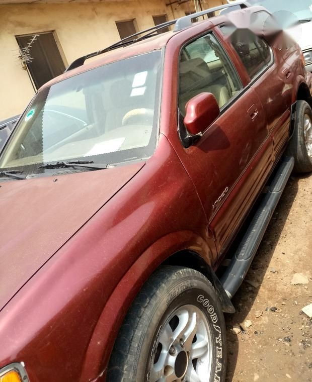 Neatly Used Isuzu Rodeo 2002 Red For Sale