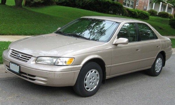 Toyota Camry 1999 on the road