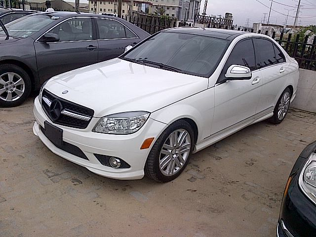 2008 clean mercedes benz c300 for sale with full auction. Black Bedroom Furniture Sets. Home Design Ideas