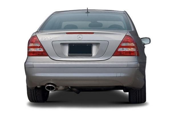 Mercedes-Benz C230 2007 rear view