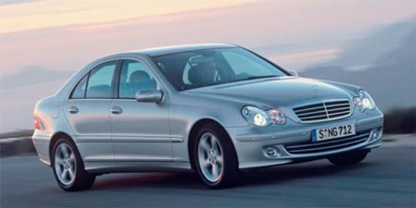 Mercedes-Benz C230 2007 on the road