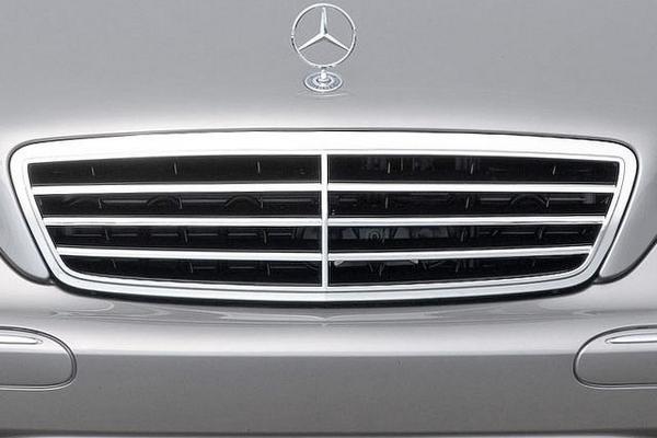 Mercedes-Benz C230 2007 front fascia