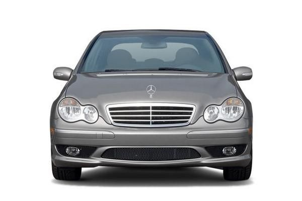 Mercedes-Benz C230 2007 front view