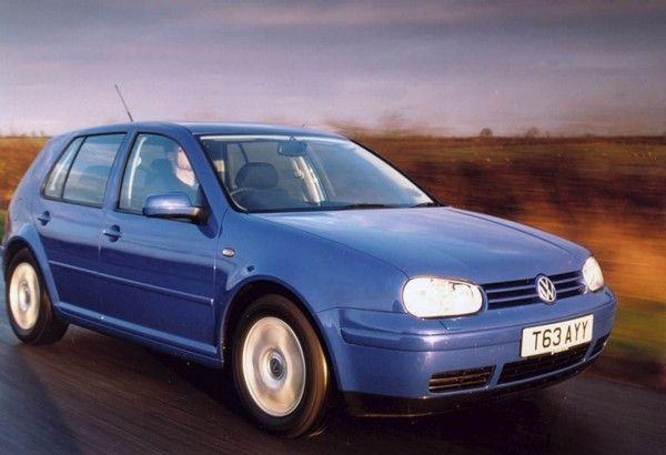 Volkswagen Golf 4 2004 on the road