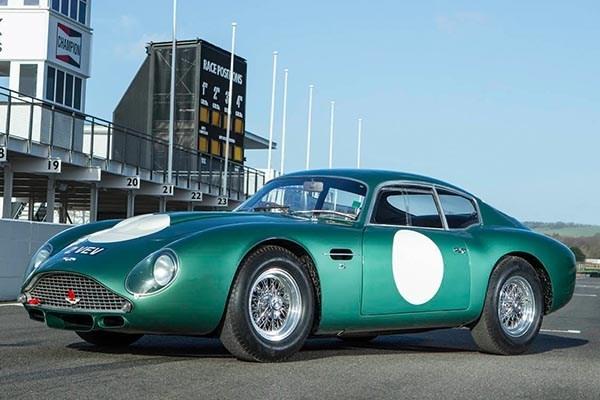 1960 Aston Martin DB4GT Zagato angular front