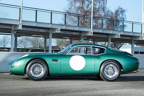 1960 Aston Martin DB4GT Zagato side view