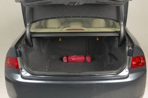Honda Accord 2003 cargo space